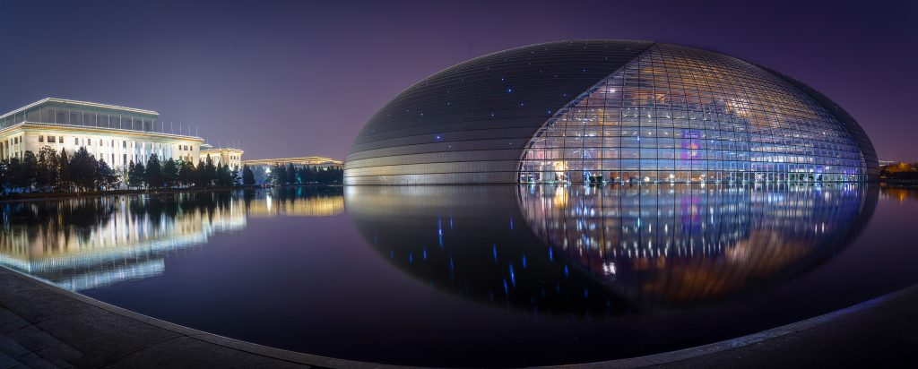 China is impressive in every sense. But just over the last years their new buildings and constructions become the benchmark for contemporary architecture. One of these examples is the wonderful Beijing National Theatre.