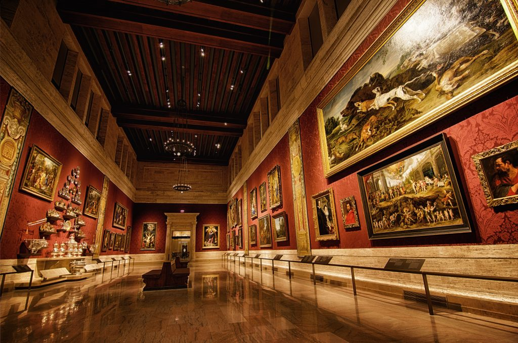 This is a shot of the most famous room of the Boston Museum of Fine Arts. I forgot the name  of the room, but it is awesome.